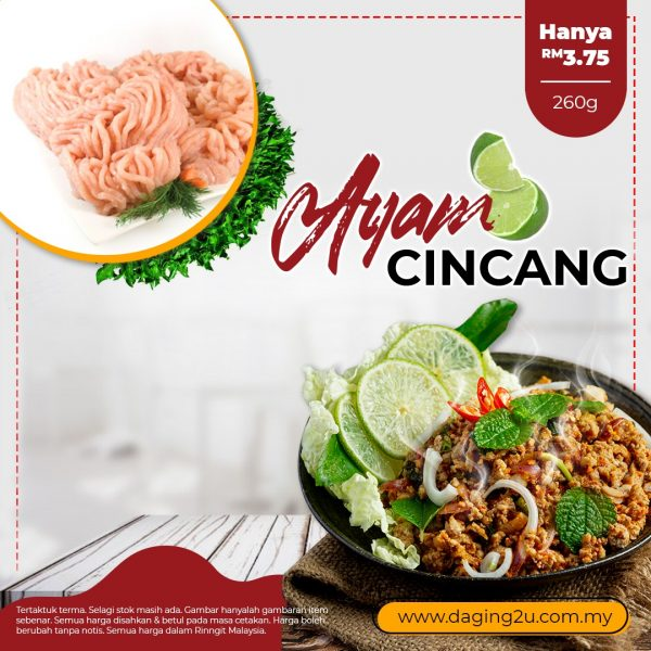 daging ayam kisar halal online 260g