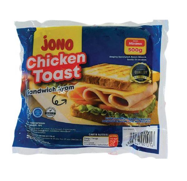 toast ayam halal jono 20 paket